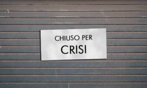 Chiuso per crisi